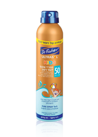 Ultrasol Kids Wet'nGo Continuous Clear Spray